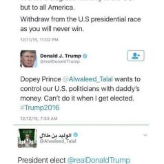 DOPEY SAUDI PRINCE BENDS THE KNEE!!!!!